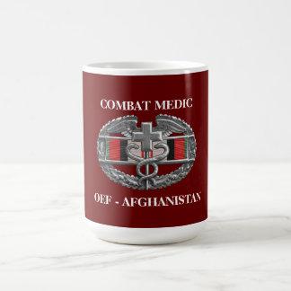 Afghanistan Campaign Ribbon Background CMB Mug Coffee Mugs