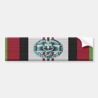 Afghanistan Campaign Ribbon CMB Sticker Car Bumper Sticker