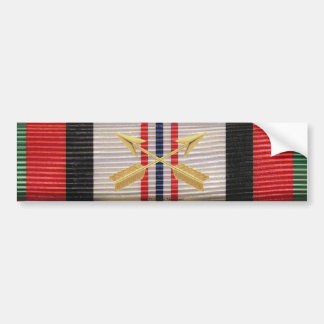 Afghanistan Campaign SF Crossed Arrows Sticker