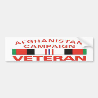 AFGHANISTAN CAMPAIGNBUMP STICKER