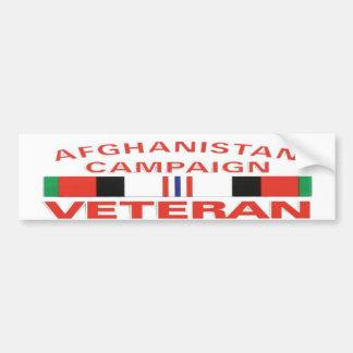 AFGHANISTAN CAMPAIGNBUMP STICKER CAR BUMPER STICKER
