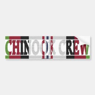 Afghanistan CH-47 Chinook Crew ACM Sticker