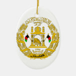 Afghanistan Coat of Arms Christmas Tree Ornament