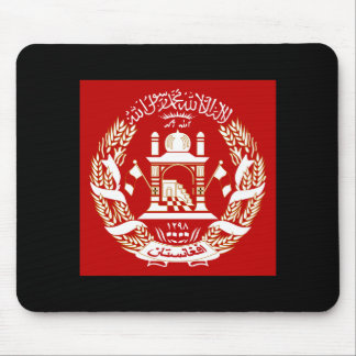 Afghanistan Coat of Arms Mouse Pad