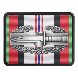 Afghanistan Combat Action Badge Hitch Cover
