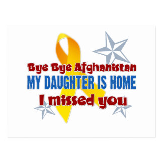Afghanistan Daughter Postcard