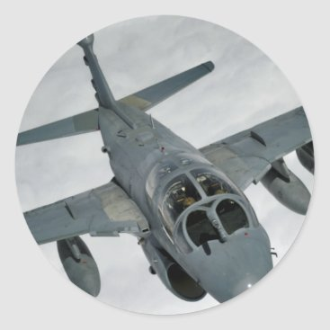 AFGHANISTAN EA-6 PROWLER CLASSIC ROUND STICKER