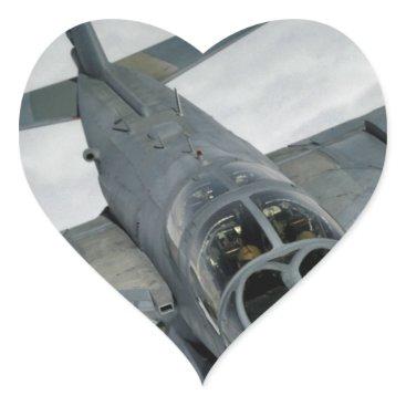 AFGHANISTAN EA-6 PROWLER HEART STICKER
