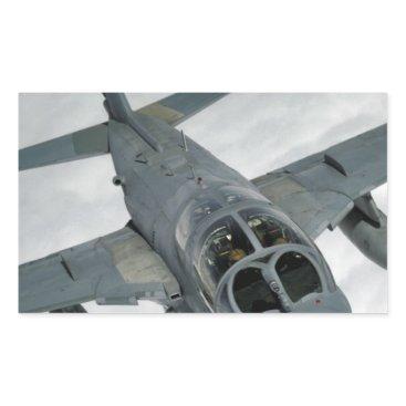 AFGHANISTAN EA-6 PROWLER RECTANGULAR STICKER