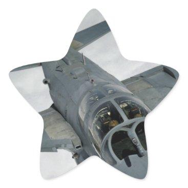 AFGHANISTAN EA-6 PROWLER STAR STICKER