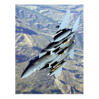 AFGHANISTAN F-15 BREAKAWAY POSTCARD