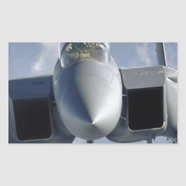 AFGHANISTAN F-15 CLOSEUP RECTANGULAR STICKER
