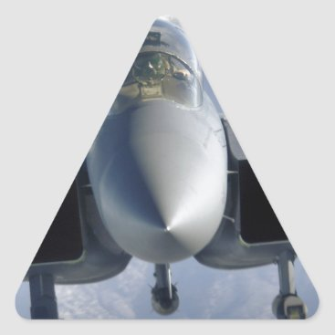 AFGHANISTAN F-15 CLOSEUP TRIANGLE STICKER