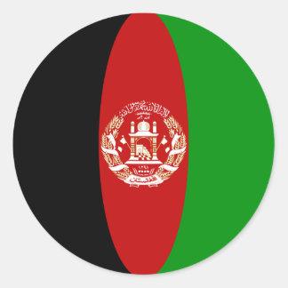 Afghanistan Fisheye Flag Sticker