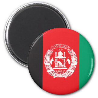 Afghanistan Flag 2 Inch Round Magnet