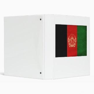 Afghanistan Flag Binder