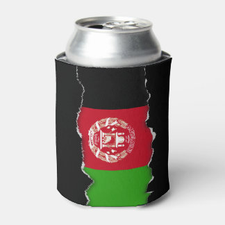 Afghanistan Flag Can Cooler