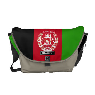 Afghanistan Flag Courier Bag