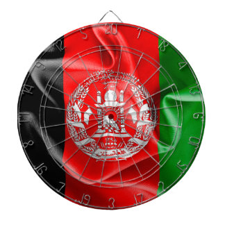 Afghanistan Flag Dart Board