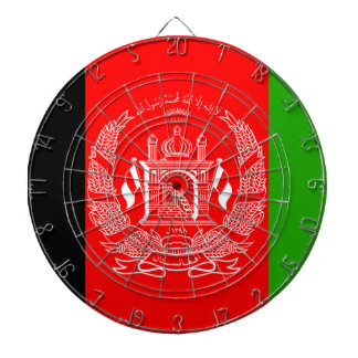 Afghanistan Flag Dartboard