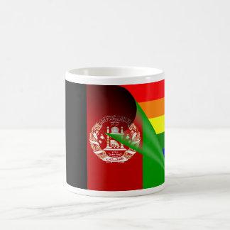 Afghanistan Flag Gay Pride Rainbow Mugs