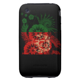 Afghanistan Flag iPhone 3 Tough Cases