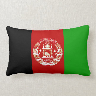 Afghanistan Flag Lumbar Pillow