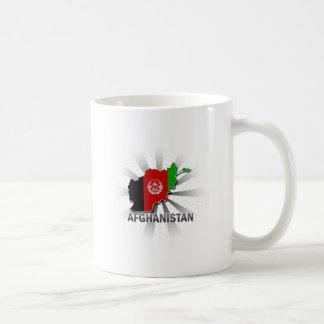 Afghanistan Flag Map 2.0 Coffee Mug