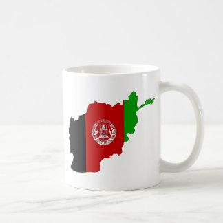 Afghanistan Flag Map full size Coffee Mugs