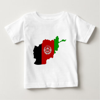 Afghanistan Flag Map full size T Shirts