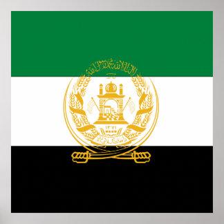 Afghanistan Flag (old) Poster