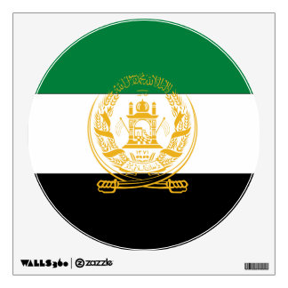 Afghanistan Flag (old) Wall Stickers