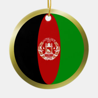 Afghanistan Flag Ornament