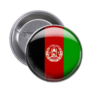 Afghanistan Flag Pinback Button