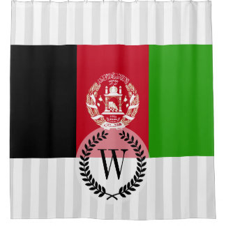 Afghanistan Flag Shower Curtain