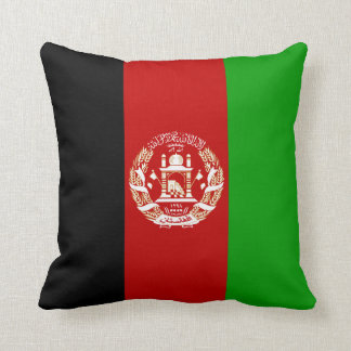 Afghanistan Flag Throw Pillow