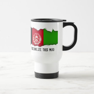 Afghanistan Flag Travel Mug
