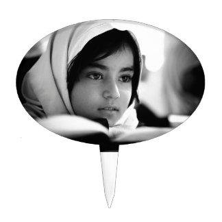 Afghanistan Girl Cake Topper