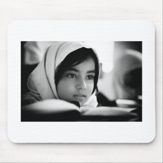 Afghanistan Girl Mouse Pad