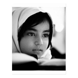 Afghanistan Girl Postcard