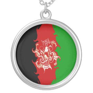 Afghanistan Gnarly Flag Pendant