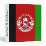 Afghanistan High quality Flag Binder