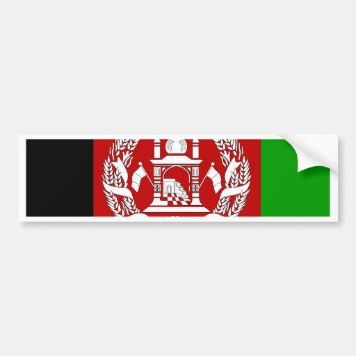 Afghanistan High quality Flag Car Bumper Sticker
