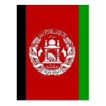 Afghanistan High quality Flag Postcard