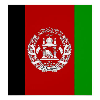 Afghanistan High quality Flag Posters