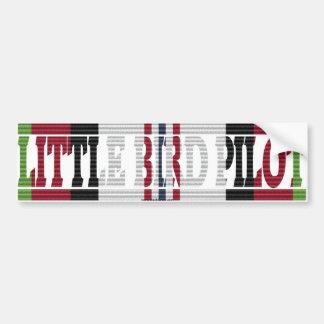 Afghanistan MH-6 Little Bird Pilot ACM Sticker