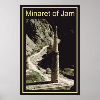 Afghanistan Minaret Of Jam Poster