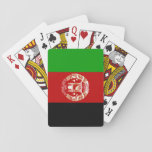 "Afghanistan National World Flag Playing Cards<br><div class=""desc"">Want everybody to know you represent Afghanistan? Show off your national pride with this flag of the world product. This item displays a world flag featuring the flag of Afghanistan.