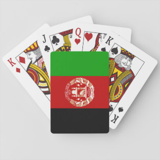 Afghanistan National World Flag Playing Cards