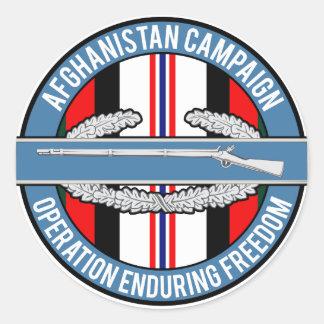 Afghanistan OEF CIB Stickers